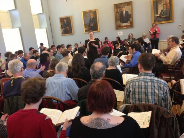 New Haven All-Day Singing, April 21, 2013