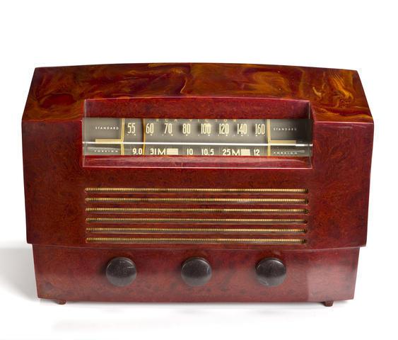 RCA 66X8, circa 1948. - Catalin: The Crown Jewel Of Table Radios WSHU