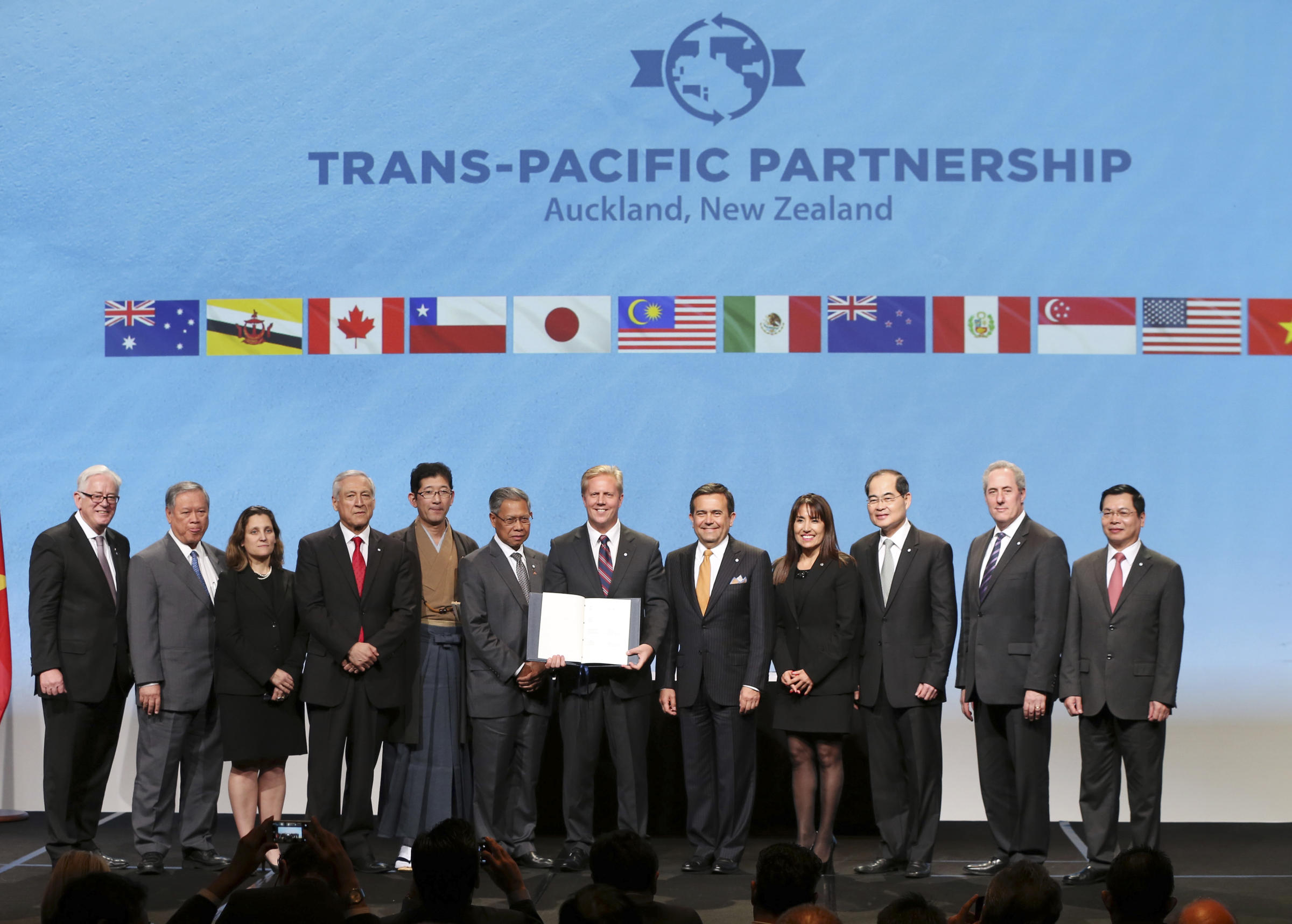 TPP Conference At Yale Highlights Winners And Losers   WSHU
