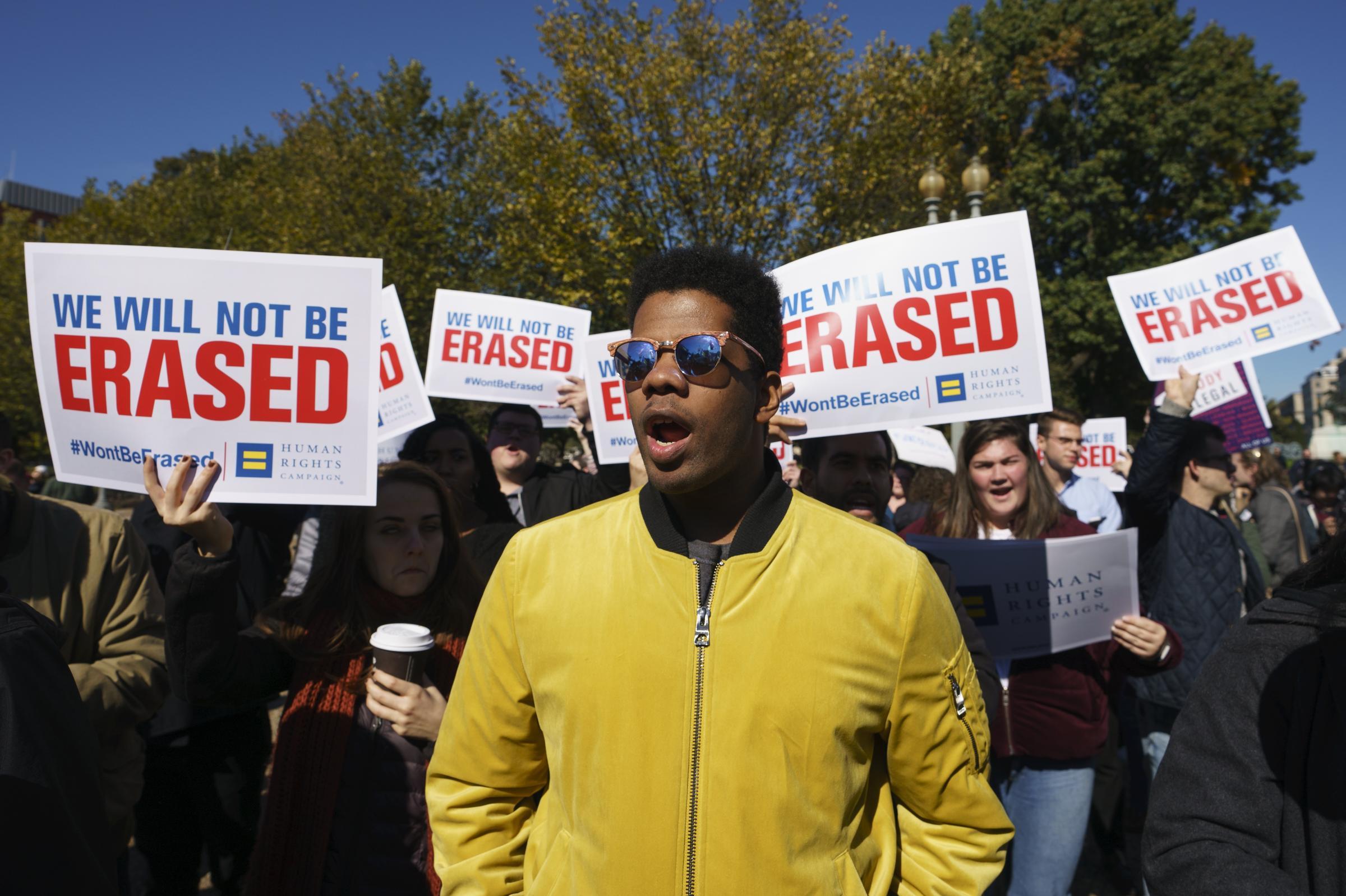 ACLU Vows To Sue Over Trump's Anti-Transgender Plan