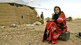 Rafea travels outside her Jordanian village for the first time to attend the solar engineering program at India's Barefoot College. Her story is profiled in the Community Cinema film Solar Mamas.