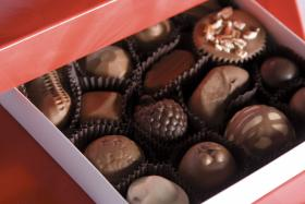 Chocolates from The Chocolate Factory in Golconda.