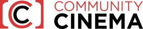 Community Cinema logo.