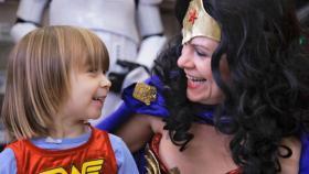 Wonder Woman Day in Portland, Oregon.