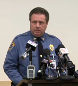 Carbondale Police Chief Jody O'Guinn announces the body of a missing SIU student had been found on February 18th.
