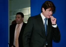 Former Illinois Governor Rod Blagojevich, and his attorney, Sam Adam Jr.
