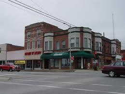 Town square area of Carbondale
