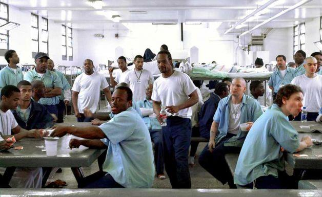 stock photo of inmates at Vandalia Correctional Center