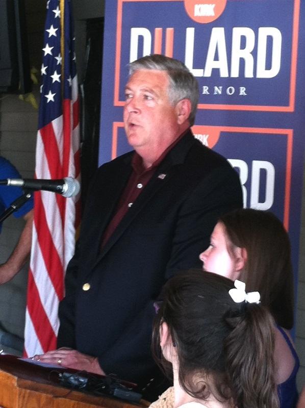 GOP Gubernatorial candidate Kirk Dillard