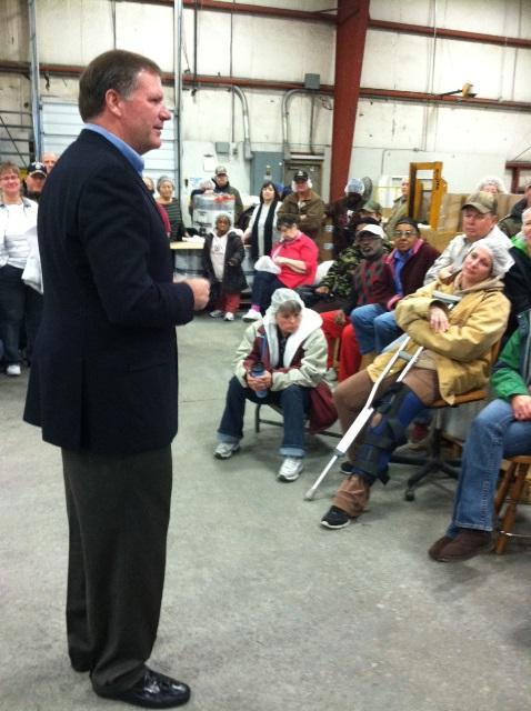 GOP Gubernatorial canidate Bill Brady