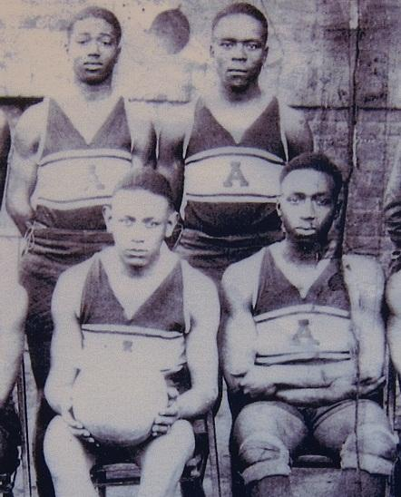 an all african american high school basketball team like those prevelant in southern Illinois between 1920's and 1950's before IHSA integrated the games