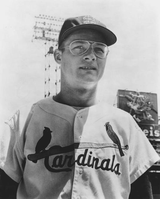 Former St. Louis Cardinals pitcher Jim Brosnan