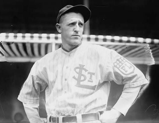 Harry Chapman with 1915 St. Louis Terriers fo the Federal League