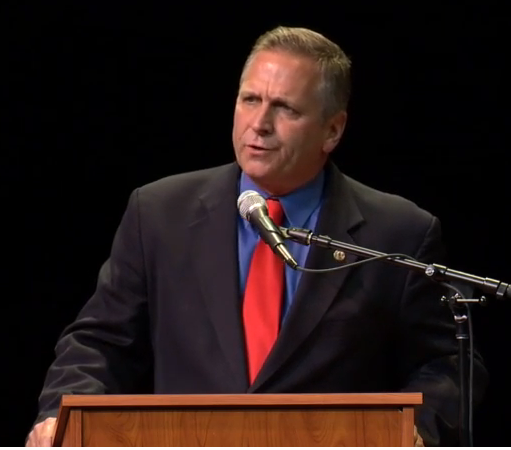 Republican Mike Bost takes part in 12th District Congressional debate