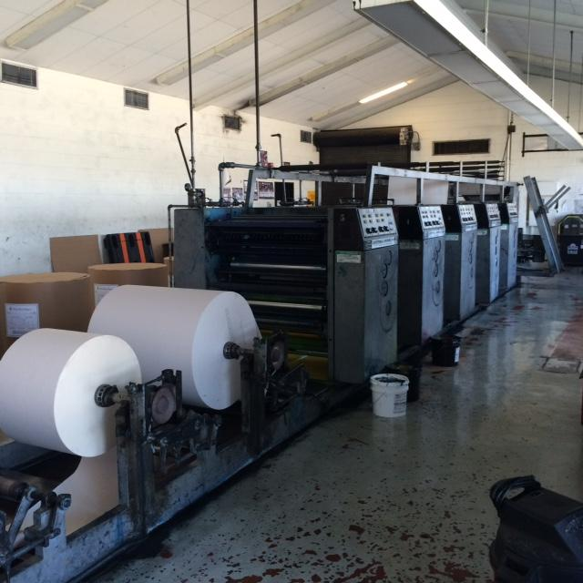 The DE's press stands ready to print Thursday