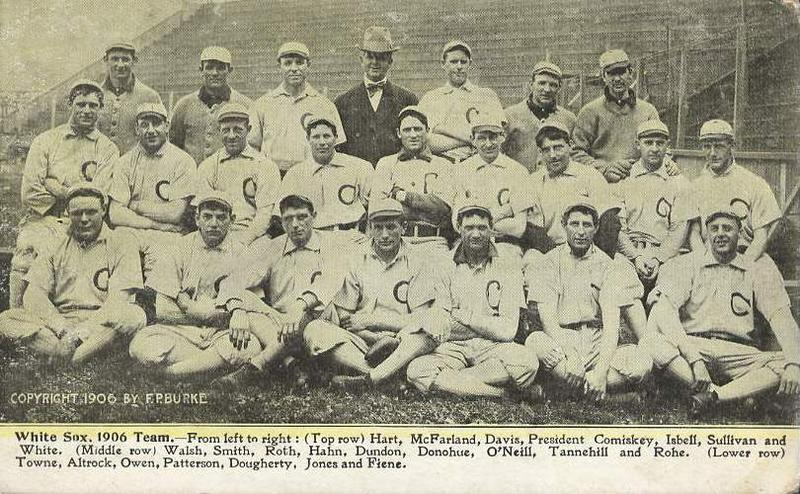 archive photo of 1906 Chicago White Sox World Series team
