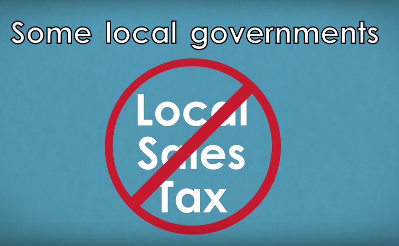 no local sales tax grahic