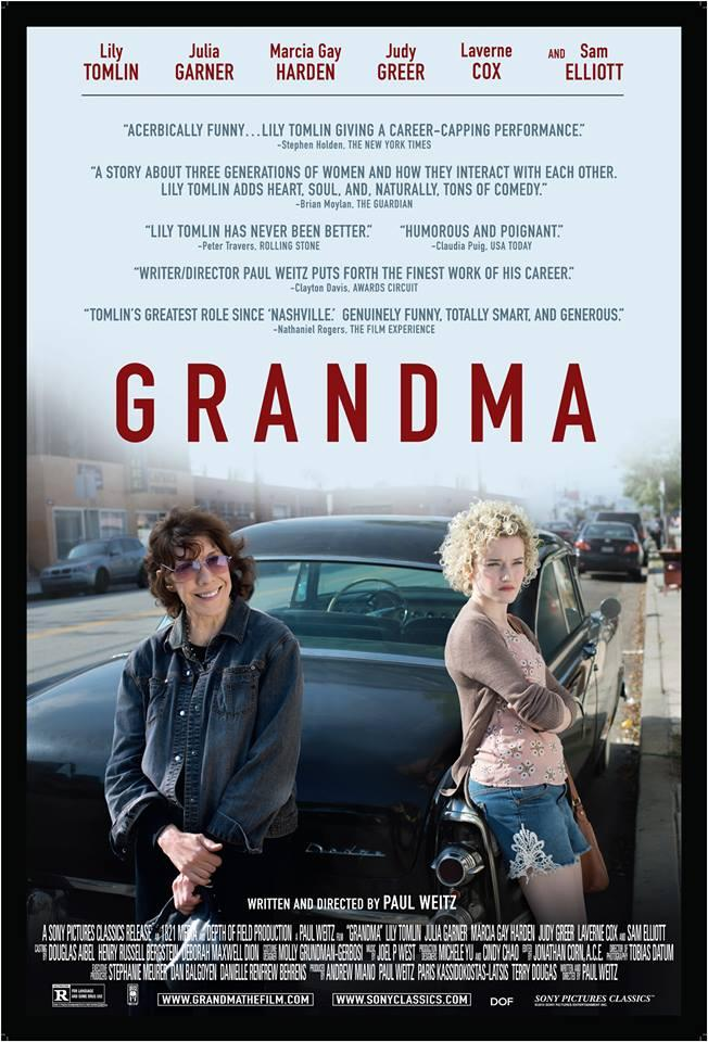movie poster for Grandma