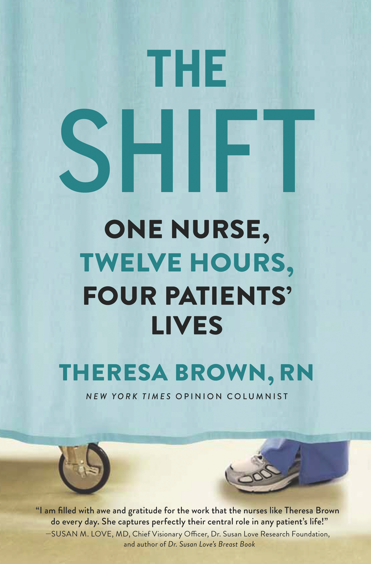 book cover for the shift