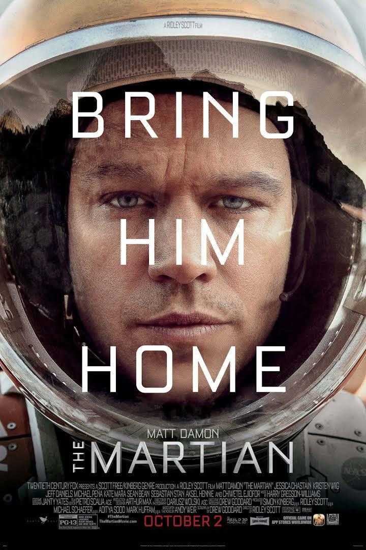 movie poster of The Martian