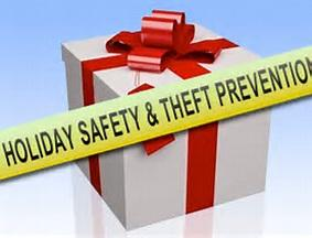 Photo of holiday theft