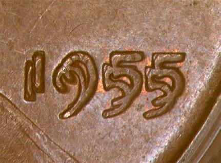 1955 Double Die Penny