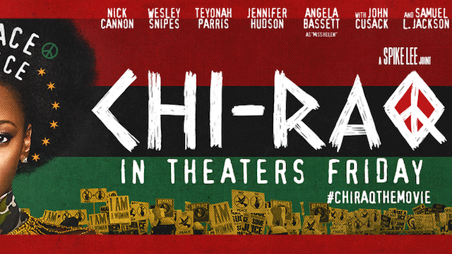 movie poster for Chi-Raq