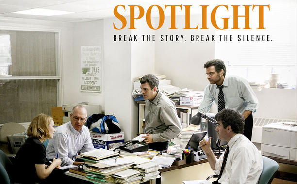film poster for Spotlight