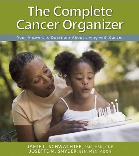 book cover of The Cancer Organizer