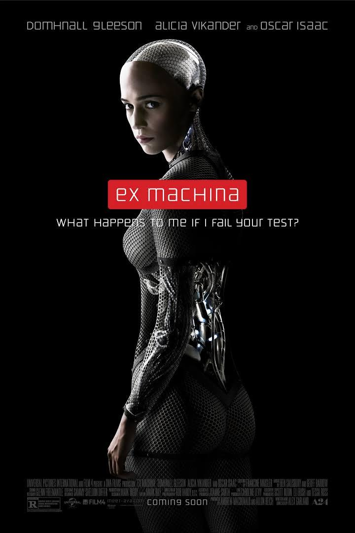 movie poster for Ex Machina