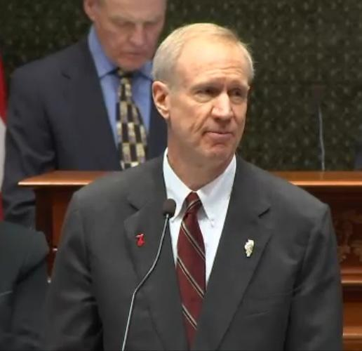 photo of IL Gov Bruce Rauner