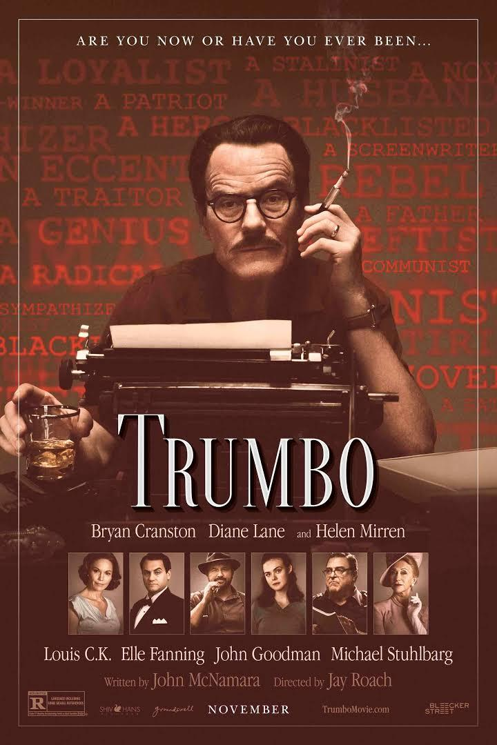 movie poster for Trumbo