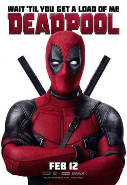 movie poster for Deadpool