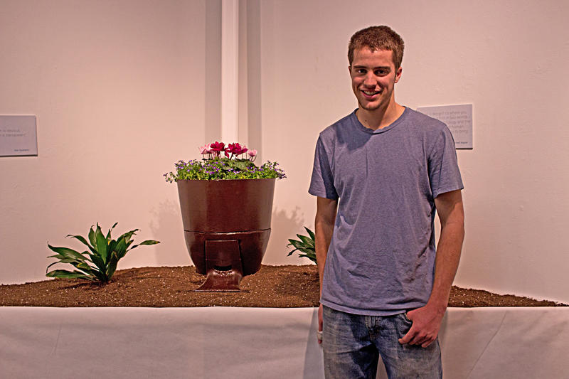 Caleb Clausing, Senior is Industrial Design in SIU's School of Art and Design