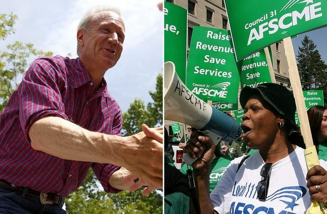 Rauner and AFSCME
