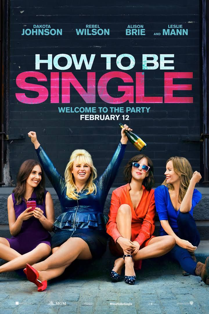 movie poster for How to Be Single