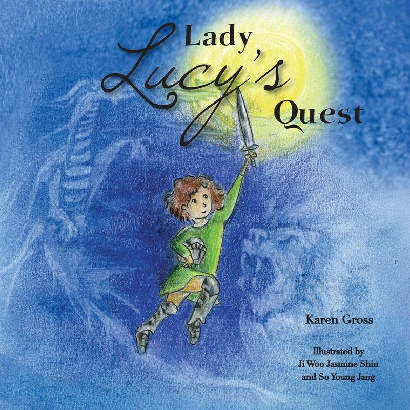 book cover for Lady Lucy's Quest