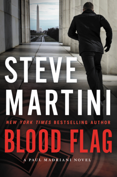 book cover for Blood Flag
