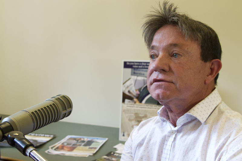 Bob Rea, Franklin Co. Historic Preservation Society, takes part in WSIU's Listening Project