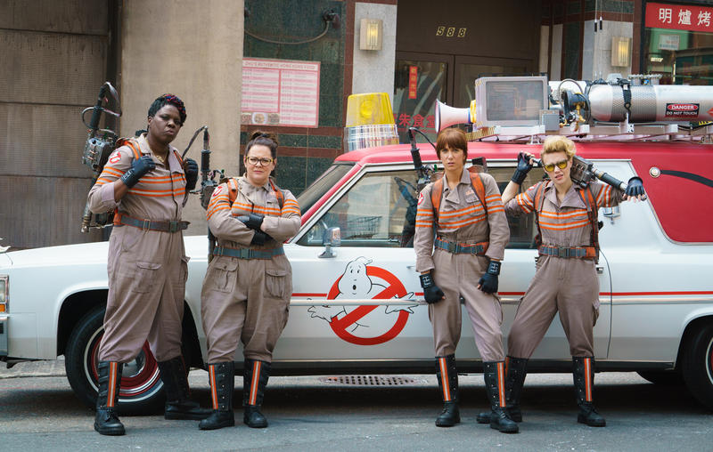 movie poser for Ghostbusters