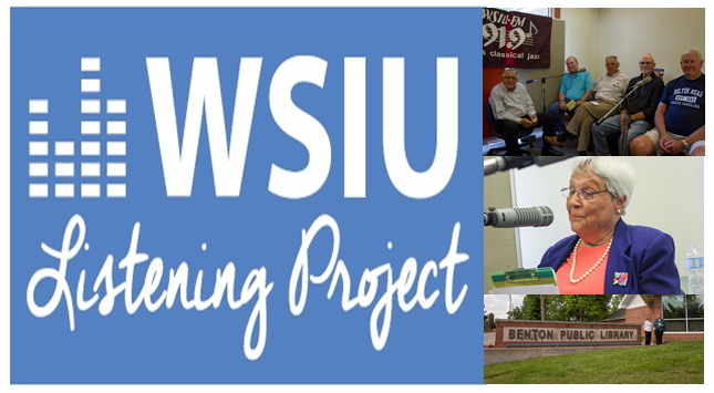 poster for WSIU's Listening Project
