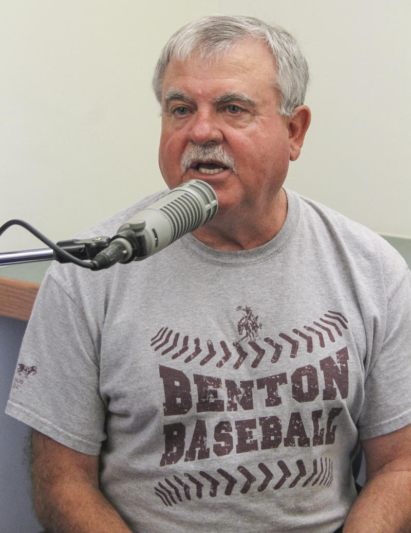 Bobby Blondi talks about his dad, Bob Blondi, for the WSIU Listening Project