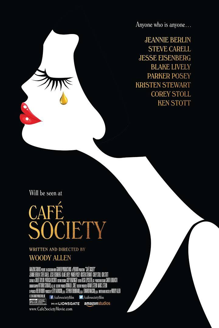 movie poster for Cafe Society