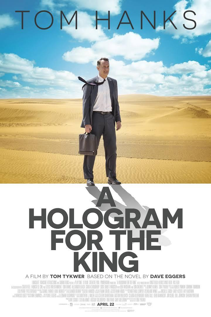 movie poster for Hologram for the King
