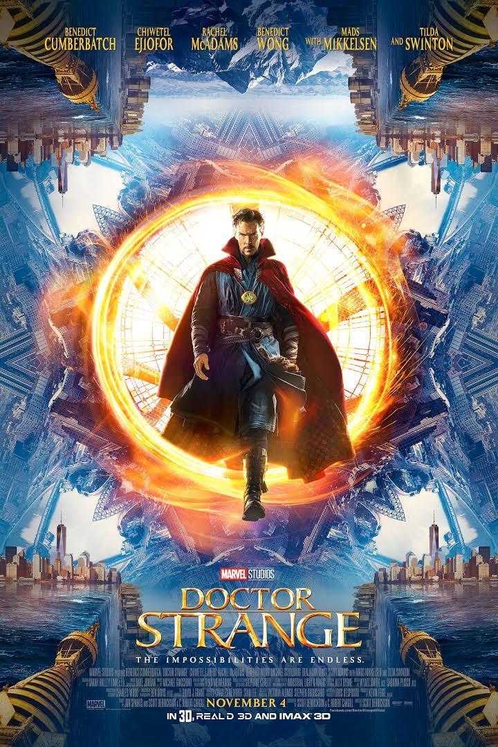 movie poster for Doctor Strange