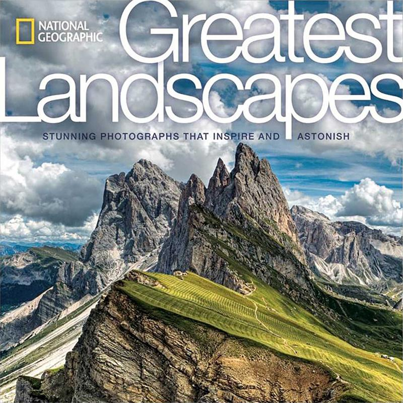 book cover for National Geographic Greatest Landscapes