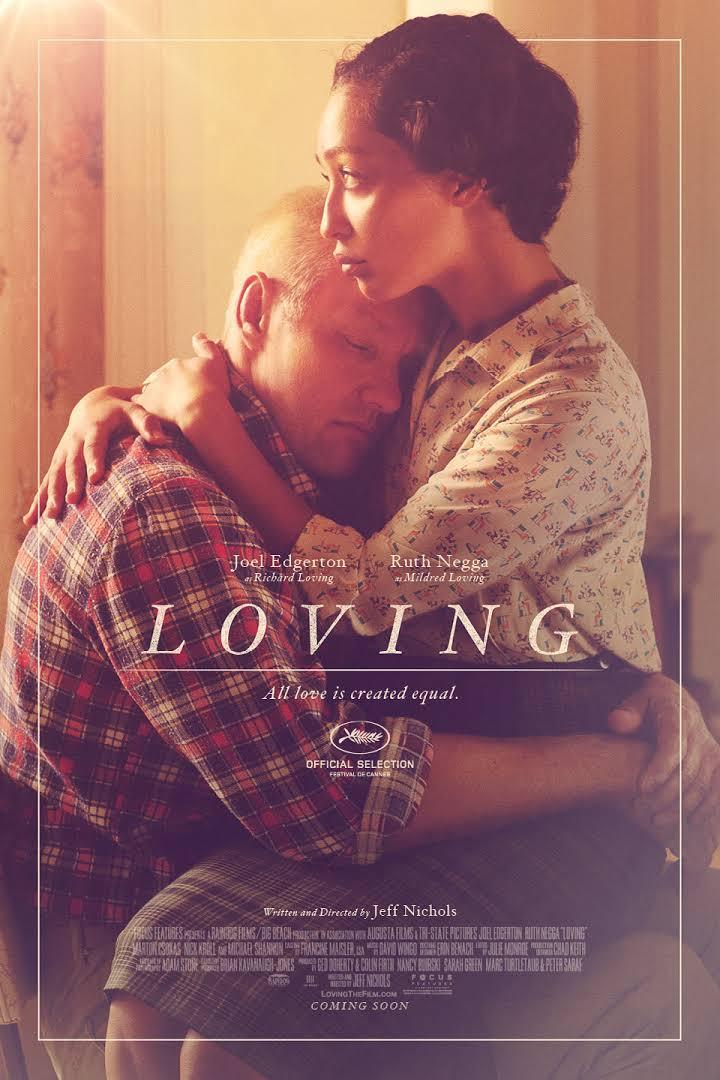 movie poster for Loving