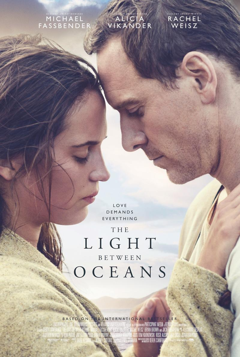 movie poster for The Light Between Oceans