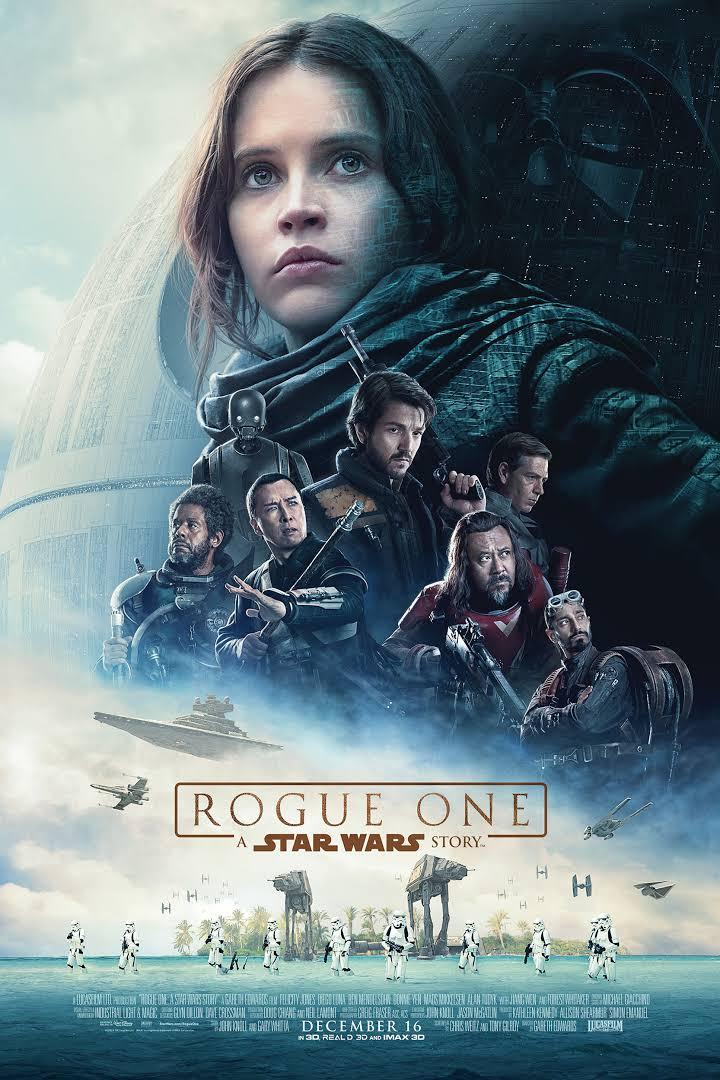 movie poster of Rogue One