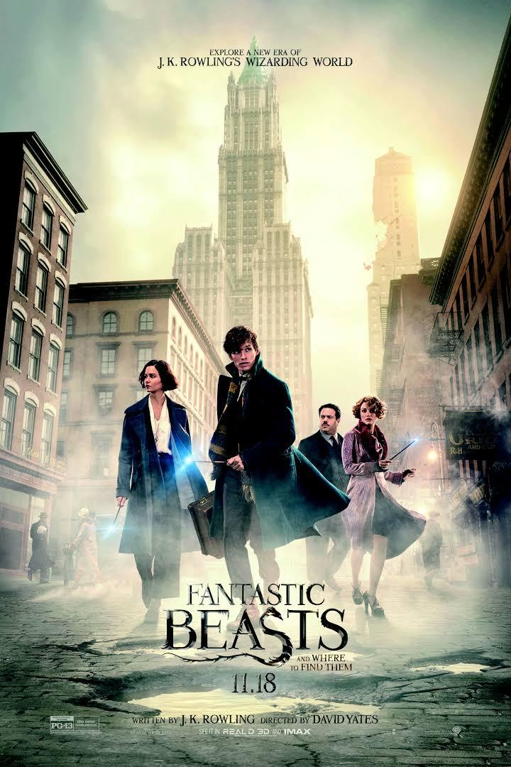 movie poster for Fantastic Beasts